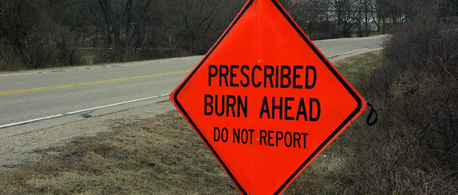Spring Burn Season is Coming! (WPFC Official Press Release)