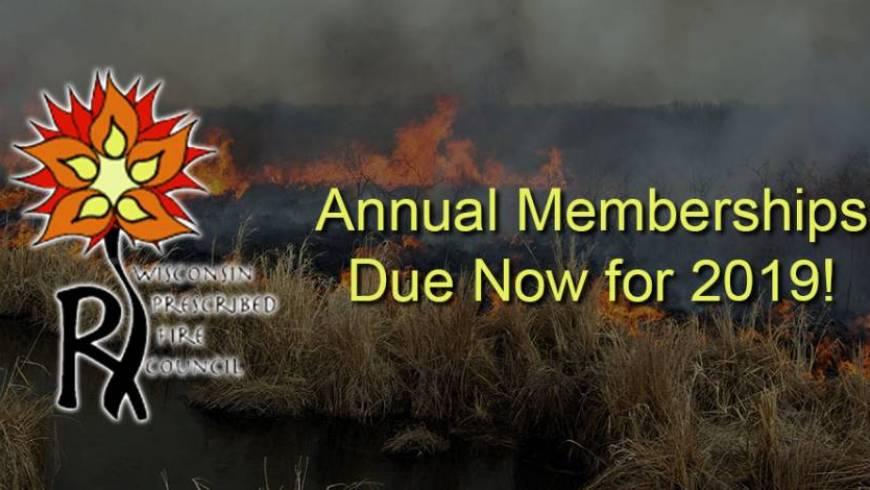 New Membership Dues in 2019